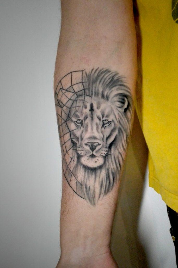 lion-graphique